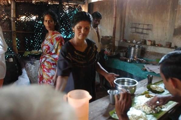 Vellichappadu (woman Oracle ) she runs a hotel in her home town in palakkad,, Kerala