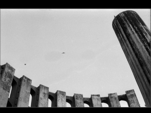 Janther Mandir, New DElhi 1997. B&W ORWO 125asa film