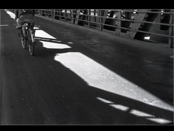 Yamuna bridge, Old DElhi 1997. B&W ORWO 125asa film