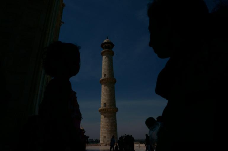 Minar of Taj mahal