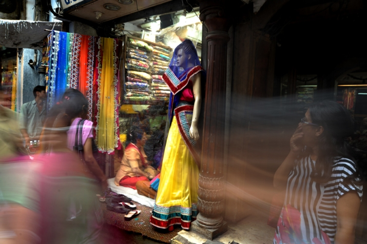 Desperate shopping for wedding season, India