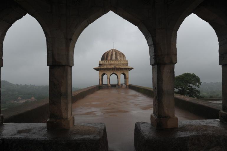 Rani Rupmati Pavilion at Mandu, madhya pradesh