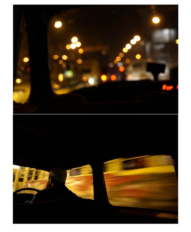 yellow cabs,trams,rickshaws in Kolkata